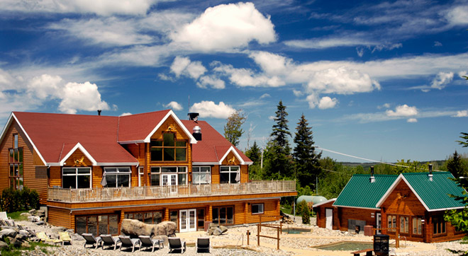 Crédit: Appalaches Lodge Spa