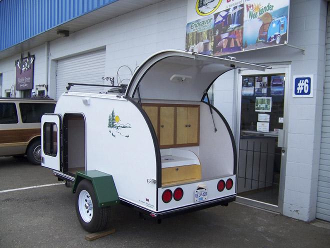 H bergement camping camping organis et l ger espaces for A l interieur trailer