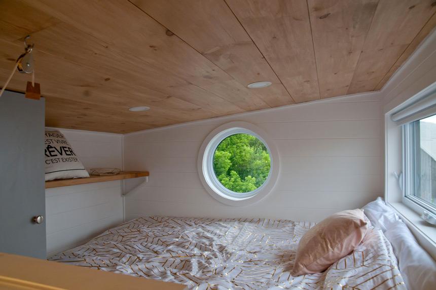 Emmenagez Dans Une Mini Maison Tiny House Sur Roues Espaces