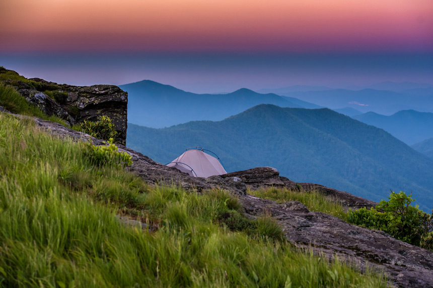 Blue Ridge Mountain © Shutterstock - Kelly VanDellen