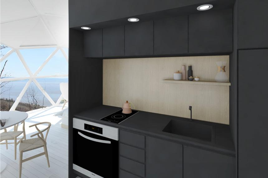 D mes charlevoix un igloo quatre saisons avec vue espaces for Deco cuisine quatre bourgeois