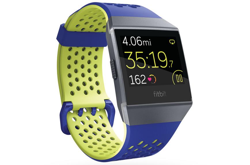 Si elle possède toutes les caractéristiques de base d une montre  d entraînement, la Ionic est plus axée sur la surveillance de la santé et  sur les exercices ... e74f73bb397