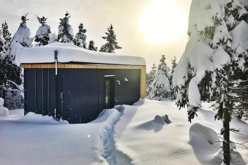 5 chalets d couvrir au qu bec cet hiver espaces Chalet boreal charlevoix