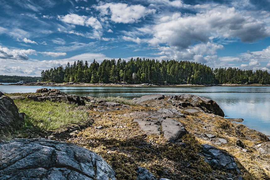 Maine islands © Shutterstock - Donna Carpenter