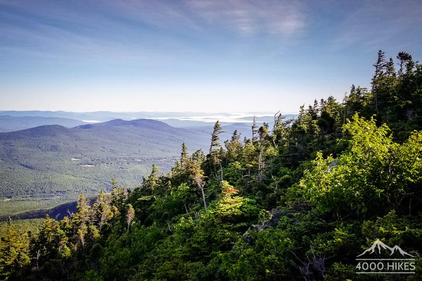Première vue de la traversée © 4000 Hikes
